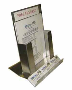 Flyer business card holder for Flyer and business card holder
