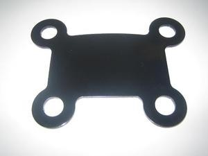 4 button mount(powder coated black)