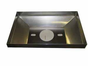 "3"" rise 4150 scoop tray"