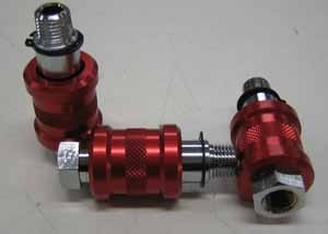 Anodized Lean out valve.
